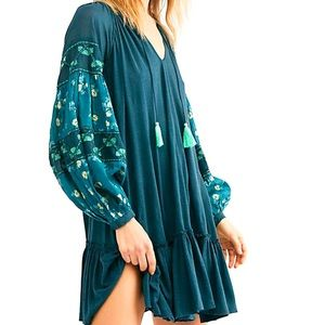NWT Free People Mix It Up Tunic Dress